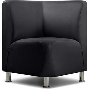 Угловое кресло Шарм-Дизайн Гамма черный