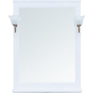 Зеркало Aquanet Валенса 75 белое матовое (238829)
