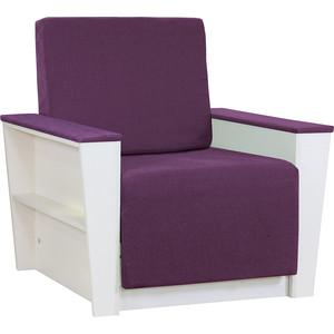 Кресло Шарм-Дизайн Бруно 2 рогожка фиолетовый кровать