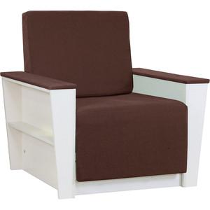 Кресло Шарм-Дизайн Бруно 2 рогожка коричневый кровать
