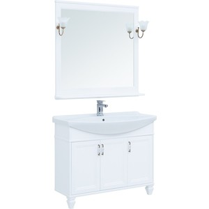 Мебель для ванной Aquanet Валенса 105 белая матовая