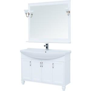 Мебель для ванной Aquanet Валенса 120 белая матовая