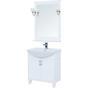 Мебель для ванной Aquanet Валенса 75 белая матовая