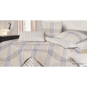 Комплект постельного белья Ecotex 1,5 сп, сатин, Гармоника Коко шанель (4660054344060)