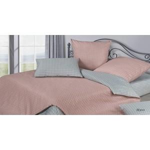 Комплект постельного белья Ecotex семейный, сатин, Гармоника Мэпл (4660054344497)