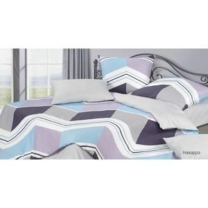 Комплект постельного белья Ecotex семейный, сатин, Гармоника Наварра (4660054344336)