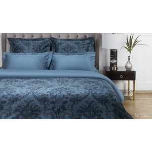 цена Комплект постельного белья Ecotex евро, сатин люкс, Новеллика Палаццо (4660054342783) онлайн в 2017 году