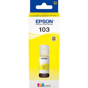 Контейнер с чернилами Epson L3100/3101/3110/3150/3151 желтые (C13T00S44A)