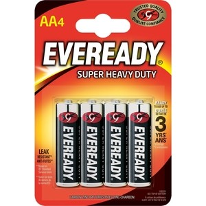 Батарейка ENERGIZER Eveready SUPER R6 AA (4 шт) 1,5V