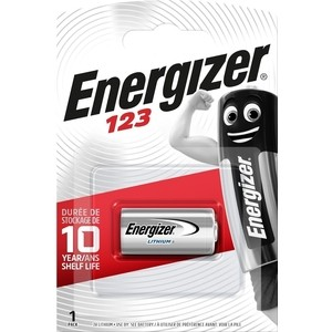 Батарейка ENERGIZER SPECIALITY PHOTO 123 (1 шт)