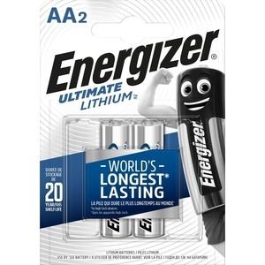 Батарейка ENERGIZER Ultimate Lithium FR6/L91 AA (2 шт) 1,5V