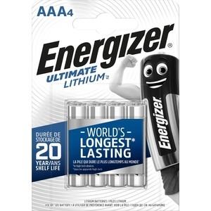 Батарейка ENERGIZER Ultimate Lithium L92 AAA B (4 шт) 1,5V
