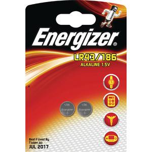 Батарейка ENERGIZER Alkaline LR43/186 (2 шт)