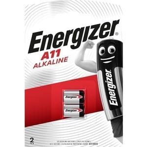 Батарейка ENERGIZER Alkaline А11/Е11А (2 шт) батарейка energizer alkaline power lr20 d алкалиновая 2 шт
