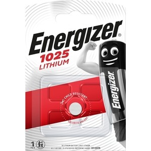 Батарейка ENERGIZER Lithium CR1025 (1 шт) 3V