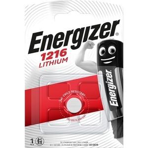 Батарейка ENERGIZER Lithium CR1216 (1 шт) 3V батарейка cr1632 energizer lithium 3v pip1 e300844101 21268