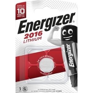 Батарейка ENERGIZER Lithium CR2016 (1 шт) 3V батарейка cr1632 energizer lithium 3v pip1 e300844101 21268