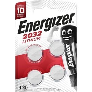 Батарейка ENERGIZER Lithium CR2032 (4 шт) 3V