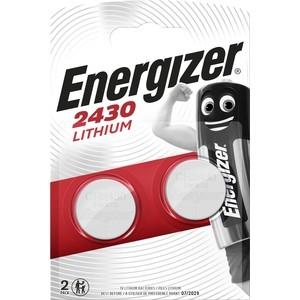 Батарейка ENERGIZER Lithium CR2430 (2 шт) 3V батарейка cr1632 energizer lithium 3v pip1 e300844101 21268