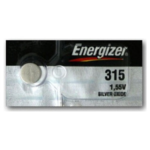 Батарейка ENERGIZER Silver Oxide 315 (1 шт) 1,55V