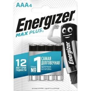 Батарейка ENERGIZER MAX PLUS LR03/E92 AAA (4 шт) 1,5V