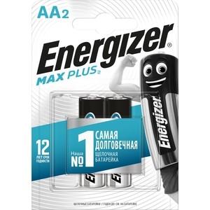 Батарейка ENERGIZER MAX PLUS LR6/E91 AA (2 шт) 1,5V батарейка aa camelion alkaline plus lr6 lr6 pb24 24 штуки