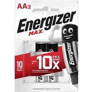 Батарейка ENERGIZER (2 шт) MAX E91/AA 1,5V