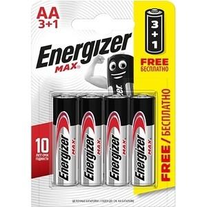 Батарейка ENERGIZER (3+1 шт) MAX E91/AA 1,5V