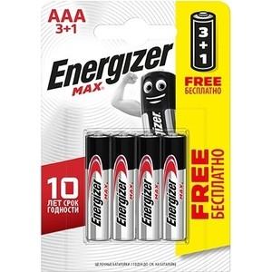 Батарейка ENERGIZER (3+1 шт) MAX E92/AAA 1,5V