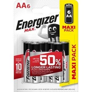 Батарейка ENERGIZER (6 шт) MAX E91/AA 1,5V
