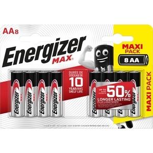 Батарейка ENERGIZER (8шт) MAX AA/ BP8 RU 1,5V