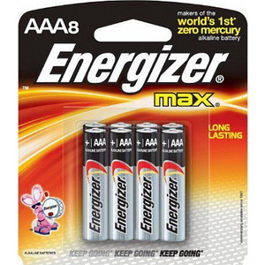 Батарейка ENERGIZER (8шт) MAX AAA/ BP8 RU 1,5V