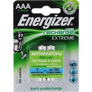 Аккумулятор ENERGIZER Extreme NH12/AAA 800 BP2 Pre-Ch (2 шт) 1,2V