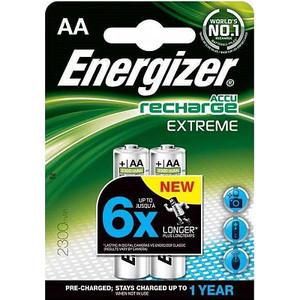 Аккумулятор ENERGIZER Extreme NH15/AA 2300 BP2 Pre-Ch (2 шт) 1,2V