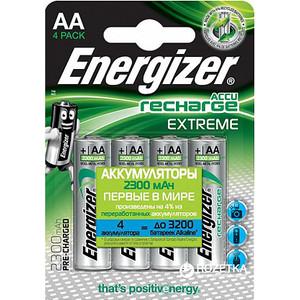 Аккумулятор ENERGIZER Extreme NH15/AA 2300 BP4 Pre-Ch (4 шт) 1,2V