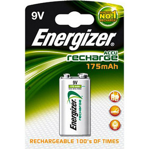 Аккумулятор ENERGIZER Power Plus NH22 BP1 Крона (1 шт) 9V