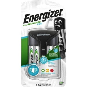 Зарядное устройство ENERGIZER ENR Pro Charger + 4 АA 2000 mAh