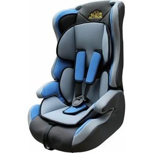 Автокресло Actrum LB-513 9-36 цвет BLACK/DOT+BLUE черный/точки+синий 30 цена