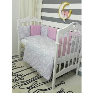 Комплект постельного белья By Twinz 3 предмета Дамаск КПБ3-ДАМАСК-МАЛ