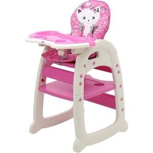 Стульчик для кормления POLINI kids 460 розовый 2 827423