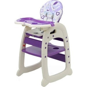 Стульчик для кормления POLINI kids 460 фиолетовый 1 827425