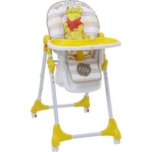 Стульчик для кормления POLINI kids Disney baby 470 Медвежонок Винни Чудесный день желтый 1 827430