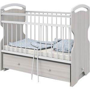 Кроватка детская АТОН Elsa Шимо светлый/Белый
