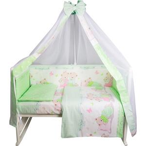 Комплект в кроватку BamBola 7 предмета СЛАДКИХ СНОВ Поплин Зеленый 739 футболка print bar сладких снов