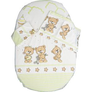 Комплект детского постельного белья BamBola ПРОГУЛКА сатин Зеленый 44