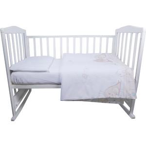 Комплект детского постельного белья BamBola ПТИЧКИ Бязь Бежевый 52