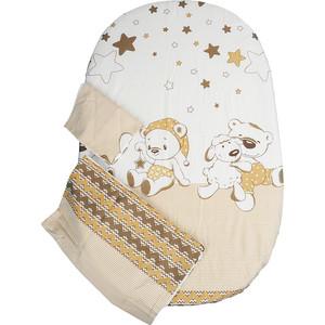 Комплект детского постельного белья BamBola УМКА сатин Бежевый 39