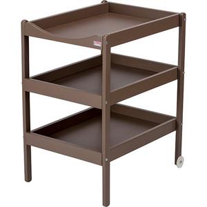цена на Столик для пеленания Combelle SUSIE (дерево) с 3-я полочками 52х82х87см Mole / Светлый шоколад 2130
