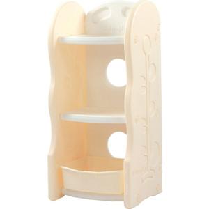 цены на Стеллаж для игрушек Edu Play 3 полки Бежевый (42х36х91) AR-8331  в интернет-магазинах