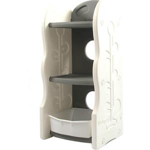 цены на Стеллаж для игрушек Edu Play 3 полки Серый (42х36х91) AR-8331W  в интернет-магазинах